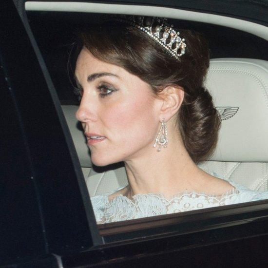 Kate Middleton at Diplomatic Reception December 2015