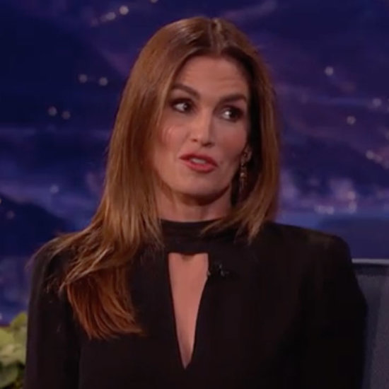 Cindy Crawford Talks George Clooney on Conan O'Brien