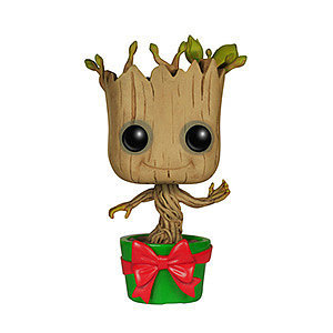 Guardians of the Galaxy is possibly one of the best Marvel movies ever made-- and Groot stole our hearts. Nothing compares to the cuteness of baby Groot dancing to music and this Marvel Guardians of the Galaxy-Holiday Dancing Groot($10) is the perfect gift for any geek in your life.