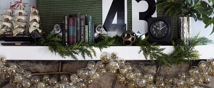 4 Different Ways to Decorate Your Holiday Mantel