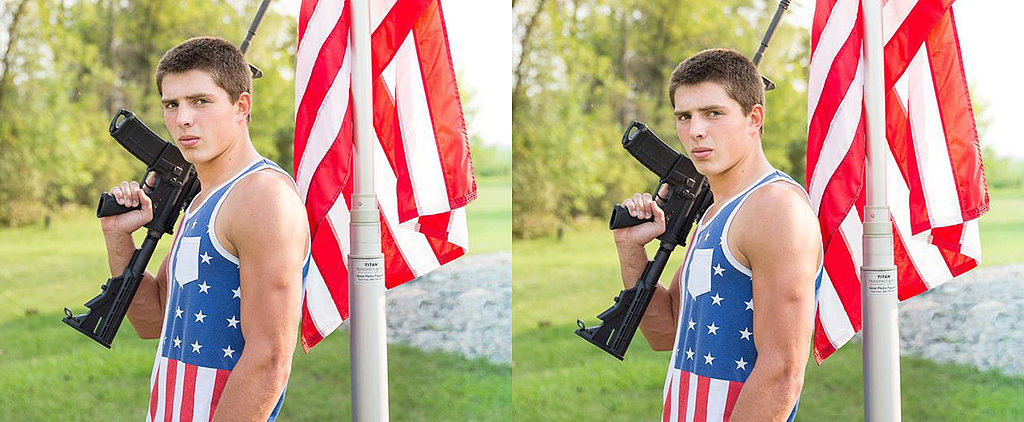 These Parents Are Outraged That a School Banned Their Son's Yearbook Photo