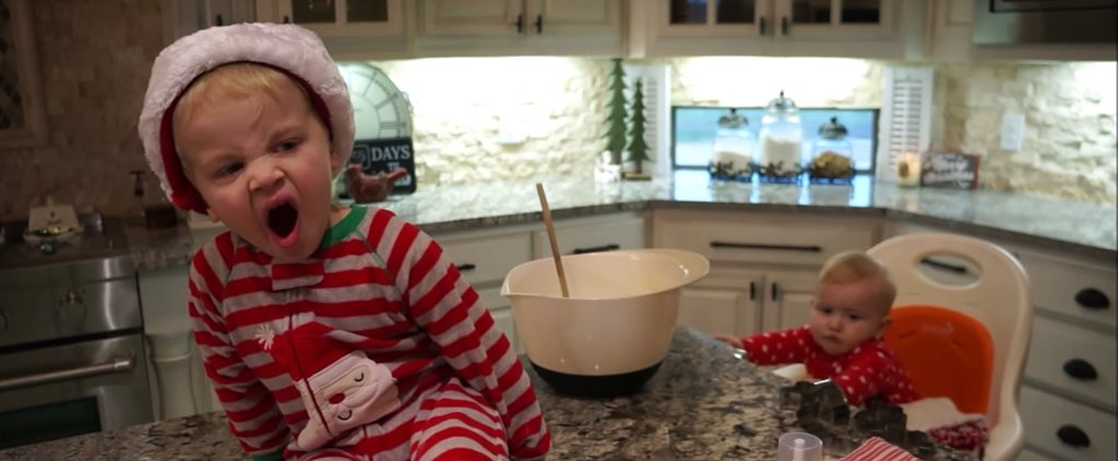 This Video Will Feel Insanely Familiar If You've Ever Tried to Bake With a Toddler