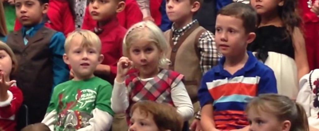 5-Year-Old Girl Surprises Her Deaf Parents By Performing Her Entire School Concert in Sign Language