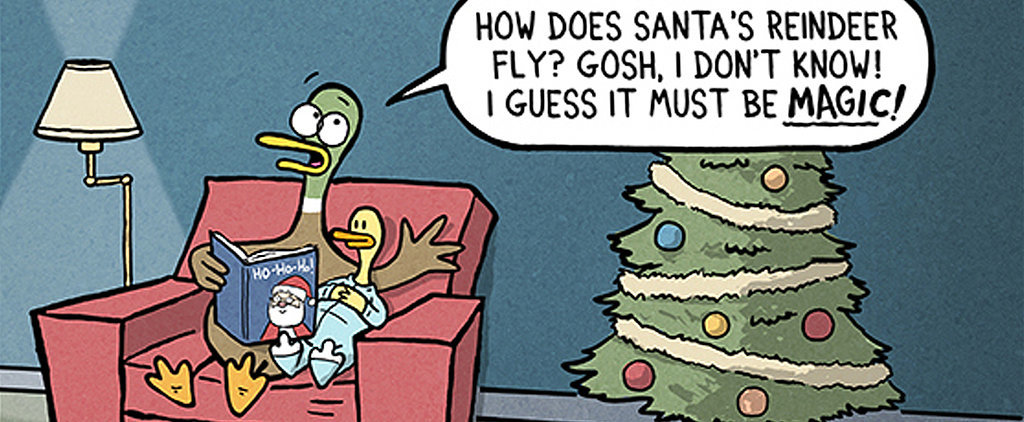 You'll Have a Hard Time Not Relating to These Hysterical Holiday Parenting Comics