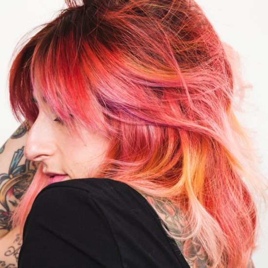 How to Switch Rainbow Hair Colours Without Totally Destroying Your Locks