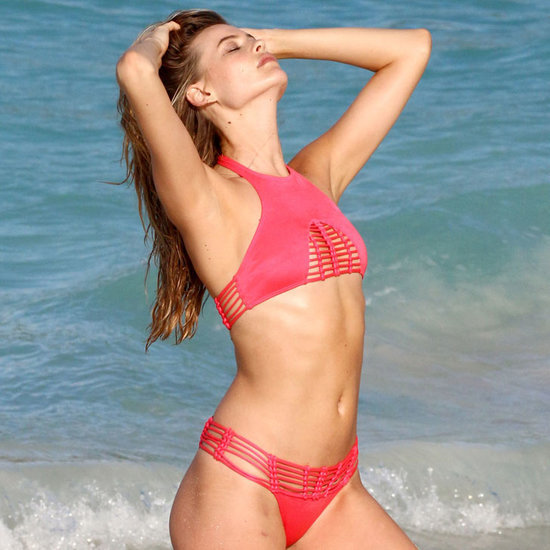 Behati Prinsloo Bikini Photos December 2015