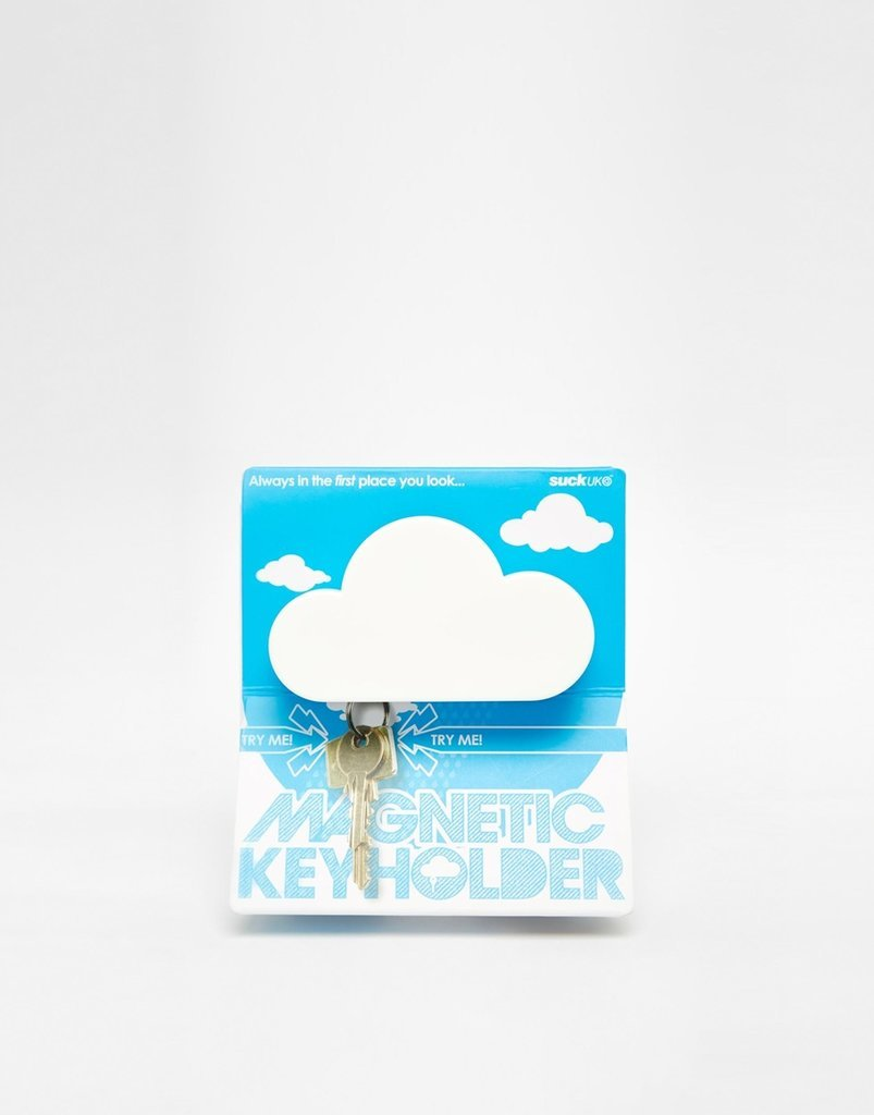 For your guy who's head is always stuck in the clouds, there's  Cloud Magnetic Key Holder ($25, originally $36) to ensure he never loses his keys again.