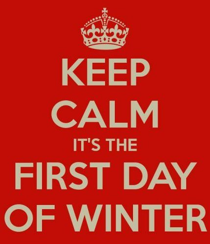 First Day of Winter 2015