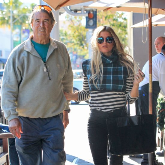 Fergie and Her Dad Out in LA December 2015
