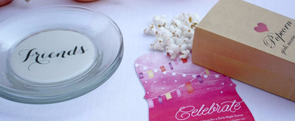 Throw a Girls' Night at the Movies Right in Your Own House!