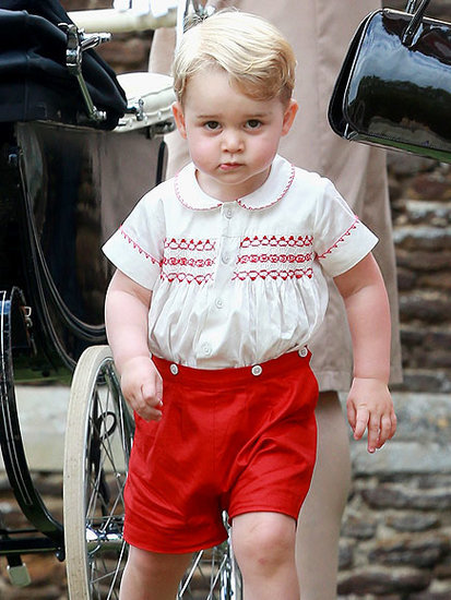 Future King in the Café! How Prince George (and His Airplane) Charmed Bucklebury Locals