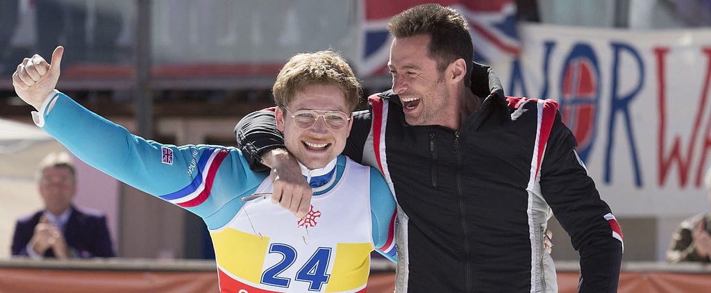 Hugh Jackman and Taron Egerton Fly High in the Trailer For Eddie the Eagle
