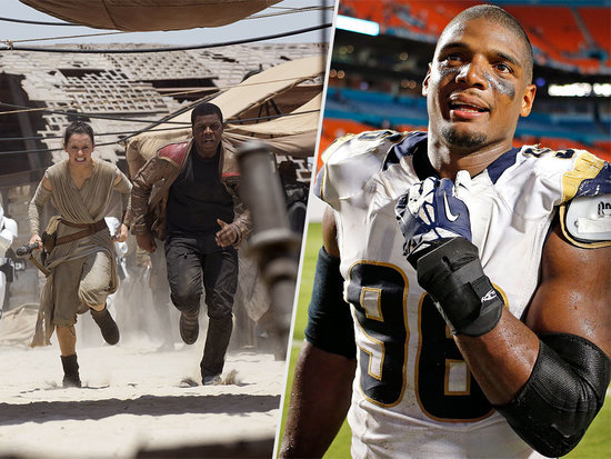 Michael Sam Tweets a Major Star Wars Spoiler - and Fans Are Not Happy About It