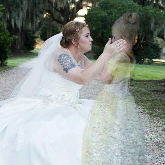 Bride Puts Deceased Daughter Into Wedding Photos