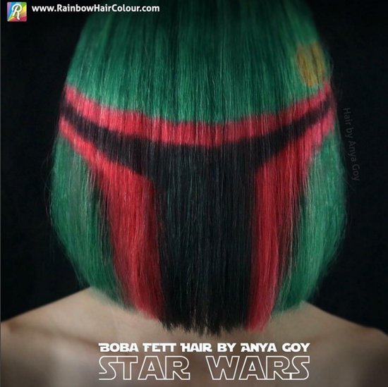 Star Wars Rainbow Hair Ideas