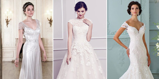 The 25 Most-Pinned Wedding Dresses Of 2015