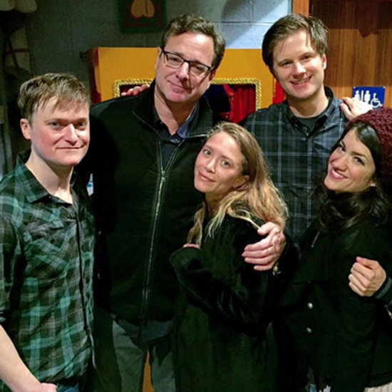 Mary-Kate Olsen Reunites With Bob Saget