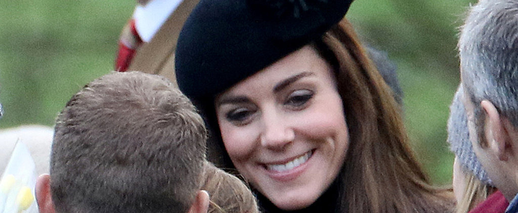 Kate Middleton Flashes an Infectious Smile During Sunday Service With Prince William