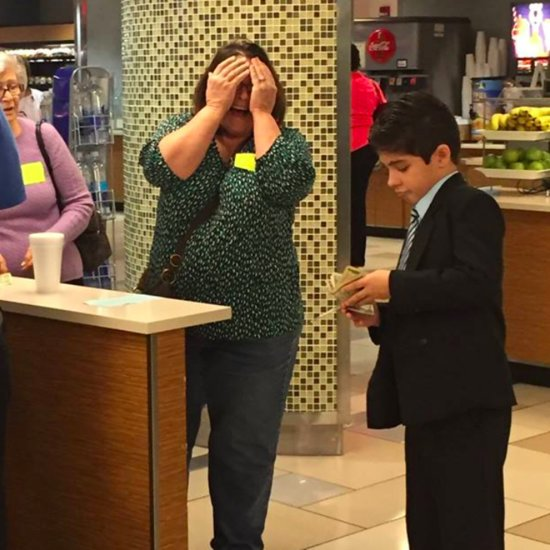 Boy Spends His Own Money to Treat Families With Sick Kids