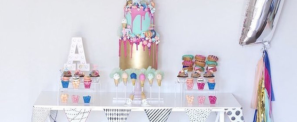 Your Child Will Love This Darling and Decadent Sparkly Circus-Themed Birthday Party