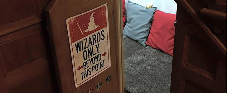 This Is the Harry Potter Cupboard Room of Your Wildest Muggle Dreams
