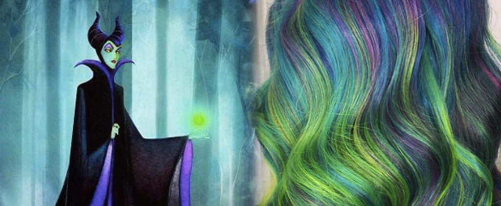 32 Disney-Inspired Rainbow Hair Ideas Fit For a Princess