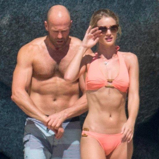 Rosie Huntington-Whiteley and Jason Statham in Thailand 2016