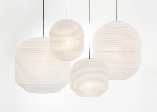Currently Coveting: Barber & Osgerby's Japanese Globe Lights