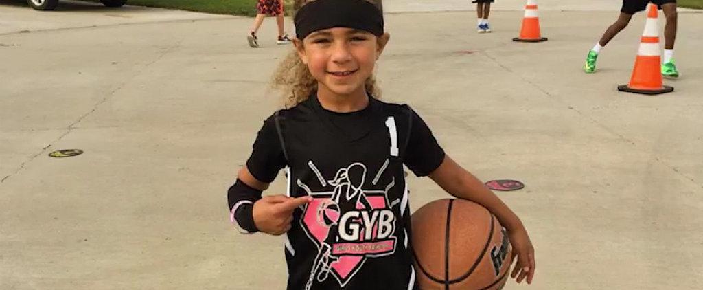 Watch a 6-Year-Old Girl Handle a Basketball Like an NBA Superstar