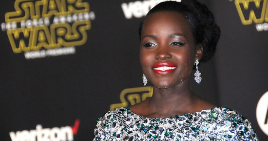 Lupita Nyong'o Is 'Baywatch' Chic In A Red One-Piece Swimsuit