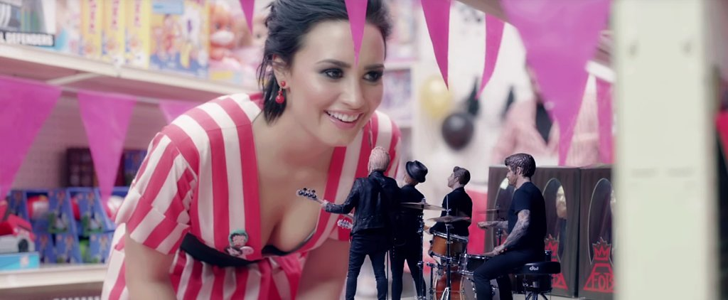 Fall Out Boy Gets a Little Help From Demi Lovato (and *NSYNC) in Their New Music Video