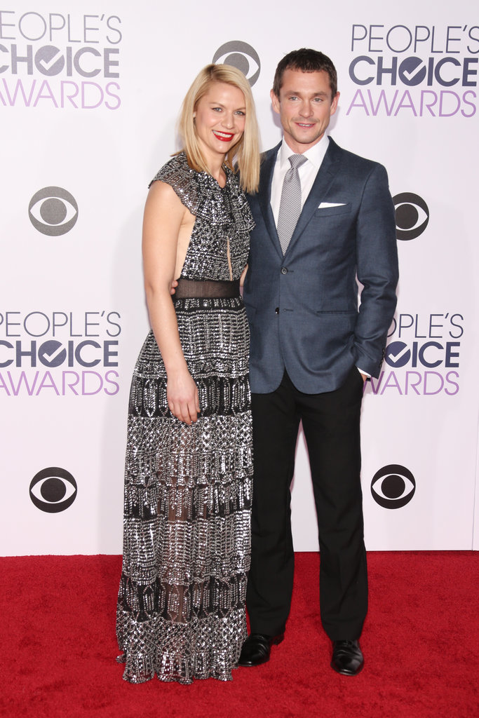 Pictured: Claire Danes and Hugh Dancy