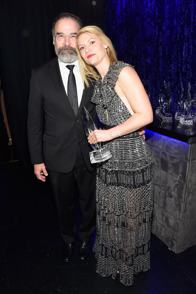 Claire Danes had a sweet moment with her Homeland costar Mandy Patinkin.