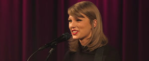 "Taylor Swift's Acoustic Performance of ""Wildest Dreams"" Is Downright Beautiful"