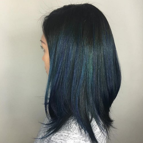 Peacock Hair Color Trend