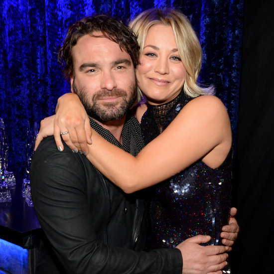 Kaley Cuoco Johnny Galecki at People's Choice Awards 2016
