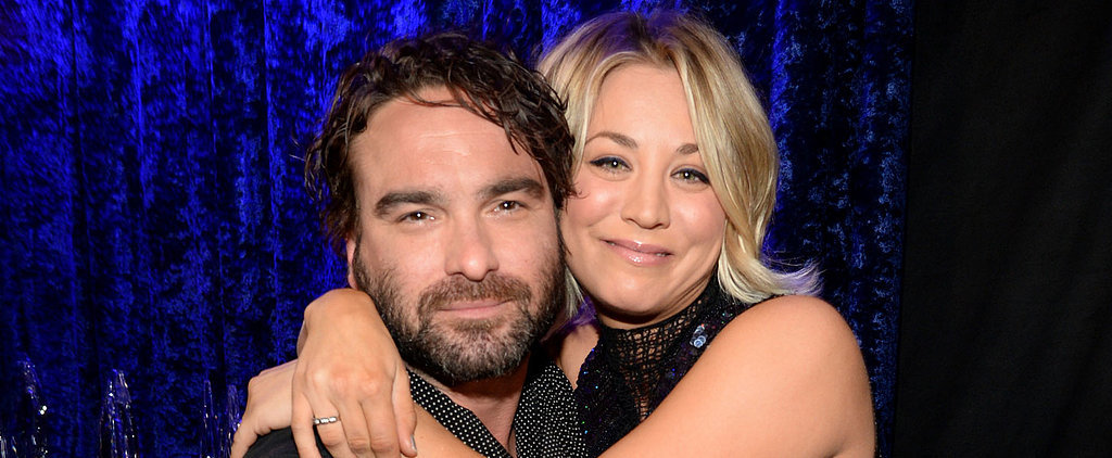 Kaley Cuoco and Johnny Galecki Are Basically the Cutest (and Coziest) Pair of Exes