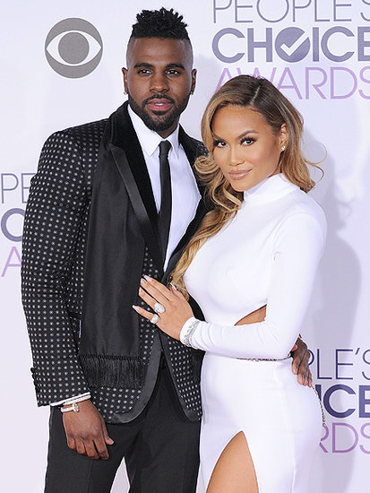 Jason Derulo and Daphne Joy Make Their Red Carpet Debut (in $1 Worth of Diamonds, No Less!) at People's Choice Awards