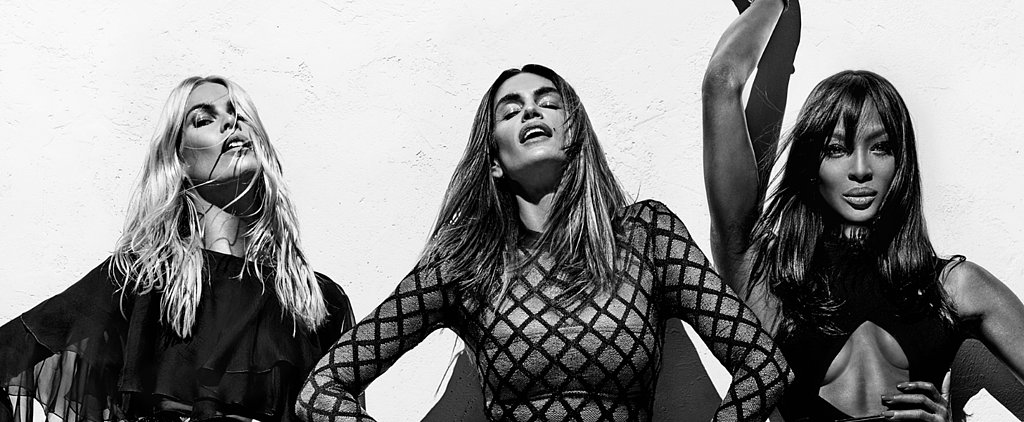 Cindy, Claudia, and Naomi Are Together Again For Balmain's Supersexy Spring Campaign