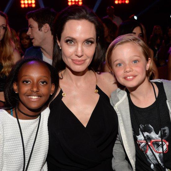 Angelina Jolie's Kids in Kung Fu Panda 3 Video