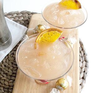 Sweet Orange Lotus Cocktail