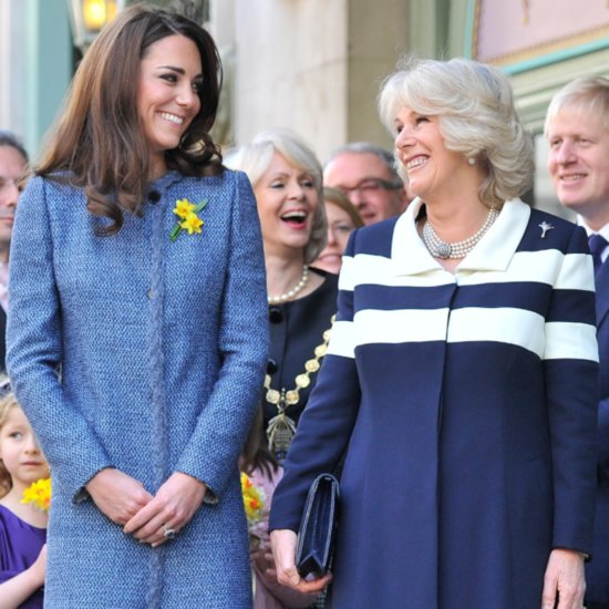 Pictures of the Duchess of Cambridge With Camilla