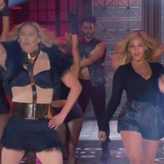 Video of Beyoncé and Channing Tatum Lip Sync Battle