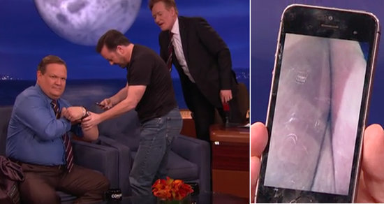 Best of Late Night TV: Ricky Gervais Teaches 'A--hole or Elbow,' Meghan Trainor's Terrible First Kiss