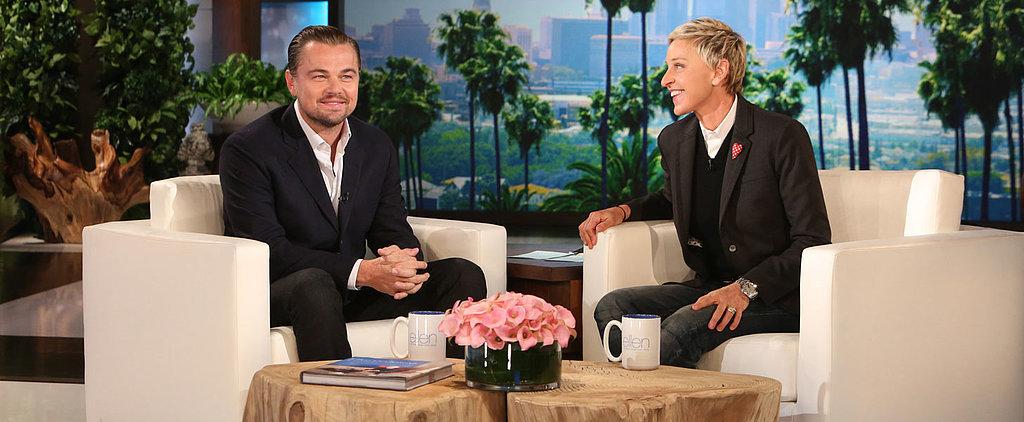 Leonardo DiCaprio's Impression of a Relaxed Female Flight Attendant Will Make You LOL So Hard