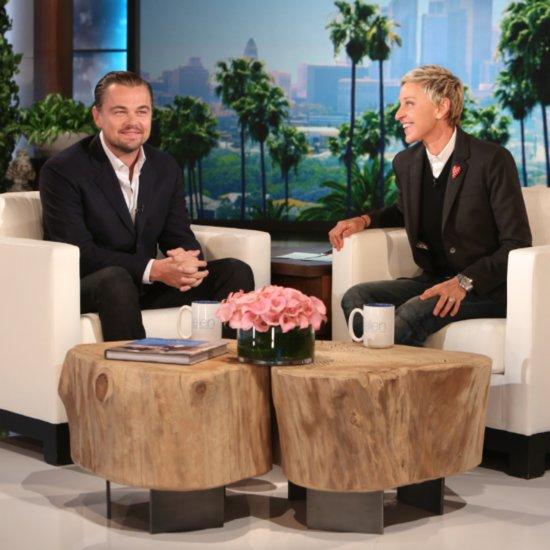 Leonardo DiCaprio on Ellen January 2016