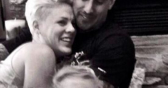 Could Pink's Family Be Any Cuter?