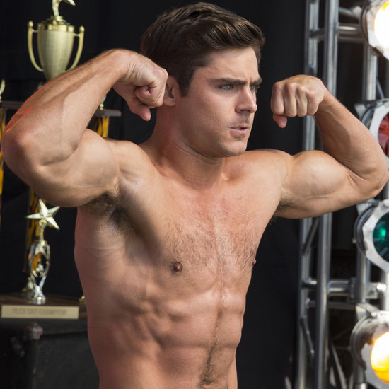 Zac Efron Shirtless in Dirty Grandpa