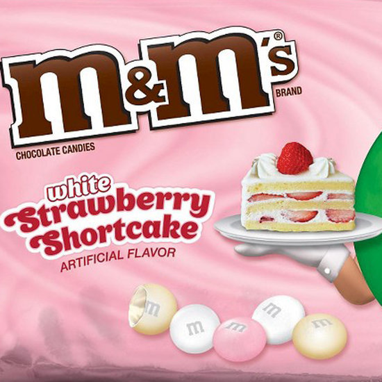 White Strawberry Shortcake and Strawberry M&M's