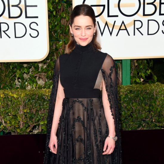 Emilia Clarke's Gown at the Golden Globe Awards 2016
